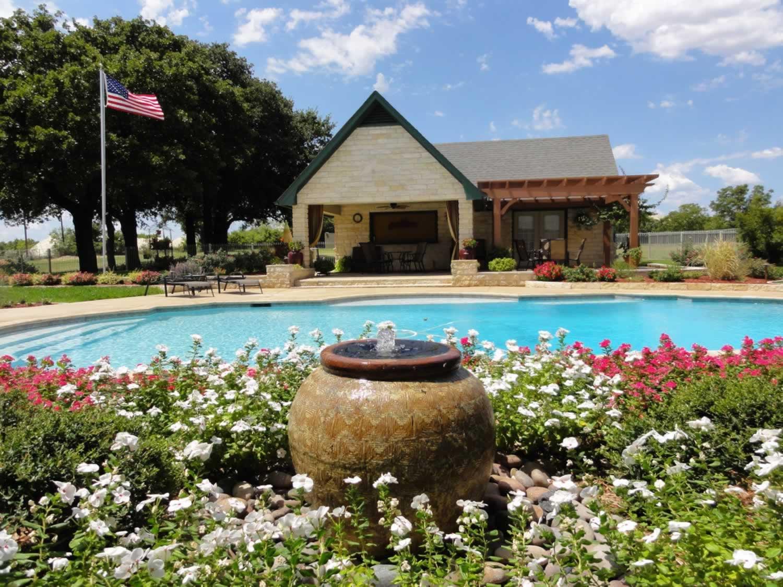 Merveilleux Dallas Landscape Water Pool ...