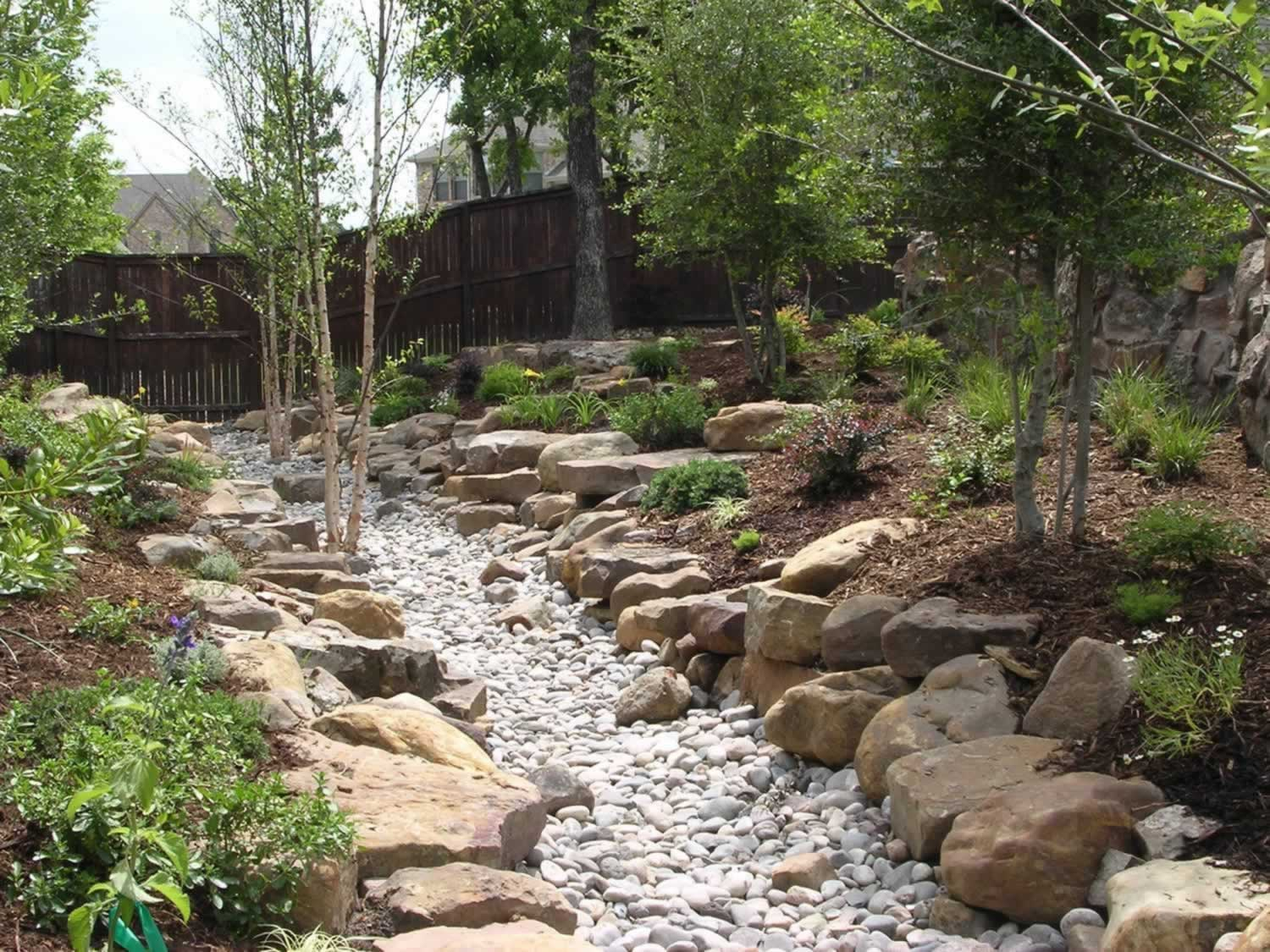 Natural landscaping ideas landscape design for Natural landscape
