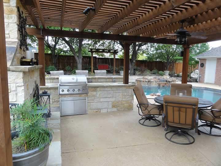 Patio Design Amp Installation In Fort Worth Tx Landscape