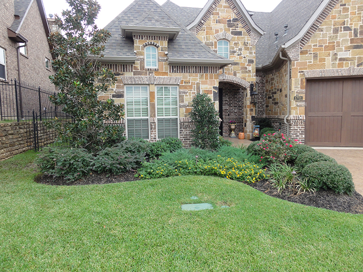 Front Garden Ideas For Tx Homes Photograph New Constructio
