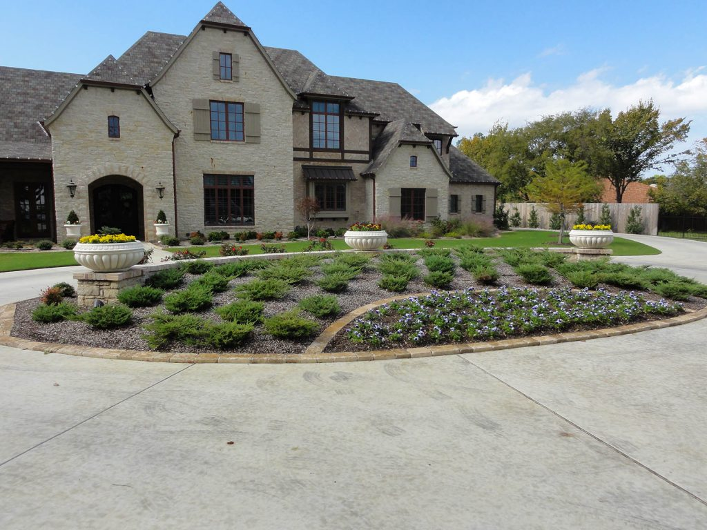 professional landscaping in fort worth texas