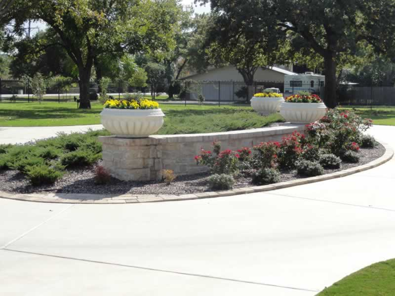 Landscape design in aledo tx landscape by design for Custom landscape design